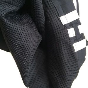 adidas Pants - Adidas cropped pants black with classic 3 stripes
